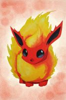 Flareon by Bellared