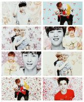 EXO Graphics. LayHan by kamjong-kai