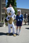 Fionna and Cake-Anime North 2013 by stealthfire96
