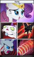 Rarity, the Queen of Pain by Dota2Pony