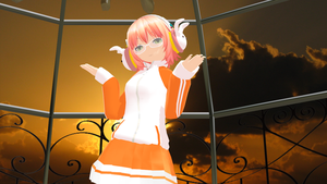 mmd model by crazyskatergurl