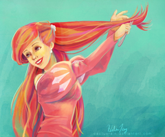 Ariel - The Little Mermaid by cactusrain