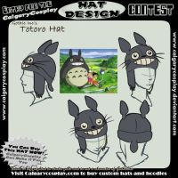 totoro hat design by Gothic-Inc
