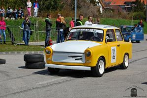Trabant 601 - Campus Cup in Gyor, 2013.... by morpheus880223