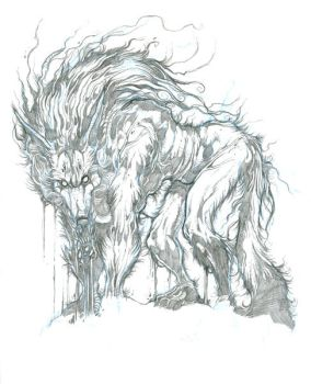 Sketch for Pagan Howling by grimhouse