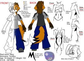 TomBoy Ref Sheet by MidNight-Vixen