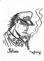Jotaro Kujo pen test by CptMunta