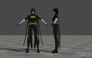 Cassandra Cain - Black Bat Mod by ranwolf1976