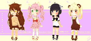 Pocky Adoptables by MoeKimiko