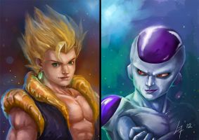 DBZ by largee17