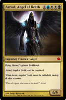 Azrael, Angel of Death by SilverRaven13