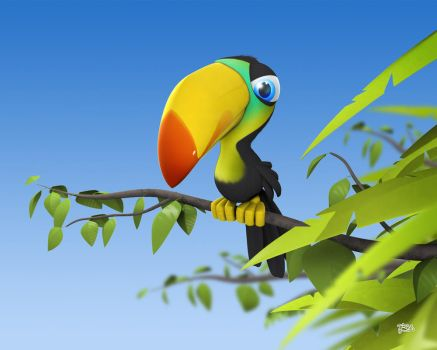 toucan by nicobou