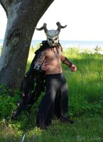 Horned Plight of Delirium - Pose by Epic-Leather