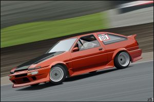 Another AE86 by zeba5