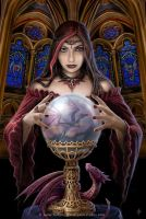 Crystal ball by Ironshod