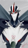 Starscream by Deathrosesouls