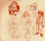 panera sketch session 9 by galvo