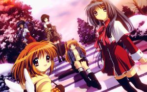 clannad wallpaper 5 (memories series) by agarest-of-war
