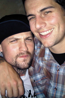 Benji Madden and M. Shadows by cutielou