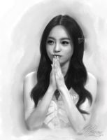 Goo Hara by ray-falkner