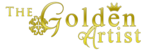 The Golden Artist Logo by crystalcleargfx