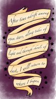 Tali'Zorah Quote Tattoo Design by mpissott