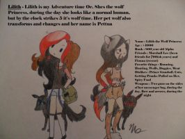 Lilith Adventure Time! by IcyBloodRaven