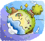My Tiny World by S-h-a-y-m-a
