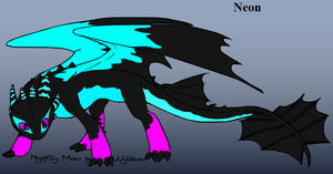 Neon the fury by iW-O-L-F