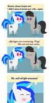 OctaScratch Comic: Friendship is Punny by foxgirlKira