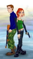 odd couple by therealarien