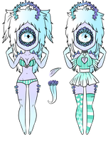 Xynthii Adopt: Coral: CLOSED by ObsceneBarbie