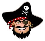Smiling Pirate by Pixel-Slinger