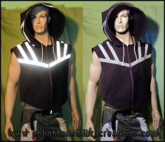 Reflective Doublet Hoody 2011 by RedheadThePirate