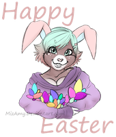 HAPPY EASTER by MizAmy