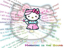 Raver Hello Kitty by -aurora-