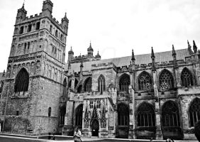 Exeter Cathedral by Kiwi29