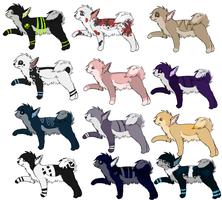Woof Adoptables 1 by MuttMilk