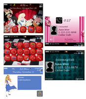 Alice - BlackBerry 8520 theme by awesomegirl