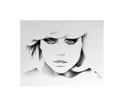 Debbie Harry Minimal Portrait by IleanaHunter