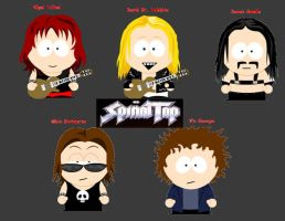 Spinal Tap: South Park style by DramaGeek528