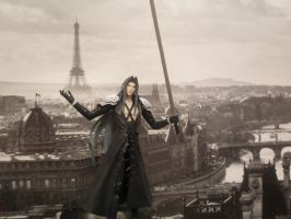 Sephiroth conquers Paris II by sunnyday81