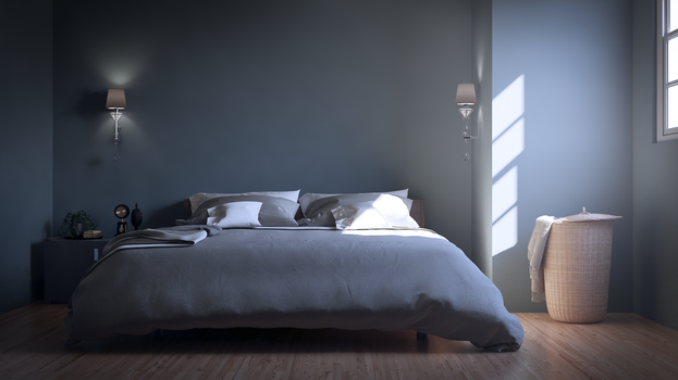 Bedroom Interior 3DSMax Vray by externible