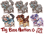 ToughPup Tag Base Auction CLOSED by Colonels-Corner