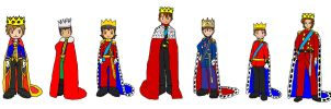 Digimon - Royal Protagonists by KingLeonLionheart