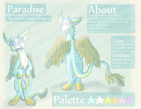 Paradise the Dutch Angel Dragon Reference by CarillonNightmares