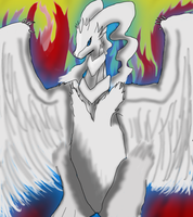 Draw Every Pokemon- Reshiram by MorganZephyr999