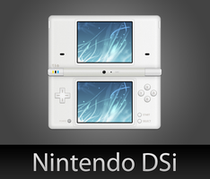 Nintendo DSi with PSD by wafflez-art