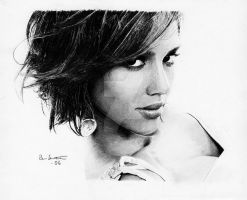 "Jessica Alba ""Hair exercise"" by Per-Svanstrom"