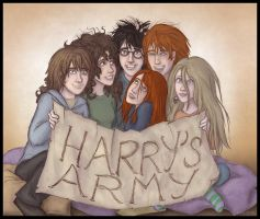 HP - the fab six by Loony-Lucy